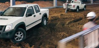 utilitaire dmax pickup