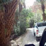 un pick up isuzu dmax sur les chemin du maroc