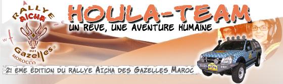 houla team- en route pour le rally Aicha des Gazelles