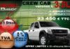 promotion isuzu dmax crew 3.0L