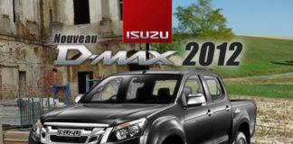 Nouveau ISUZU Dmax 2012