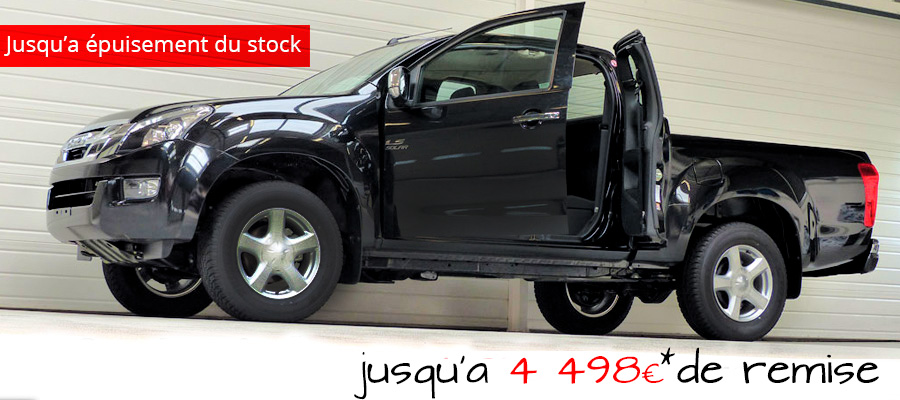 tarif isuzu d max space solar offre sp ciale. Black Bedroom Furniture Sets. Home Design Ideas