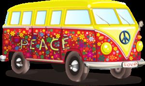 Volkswagen Combi Hippie