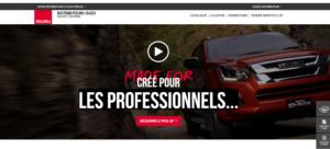 Nouveau Site lepickup-fr homepage