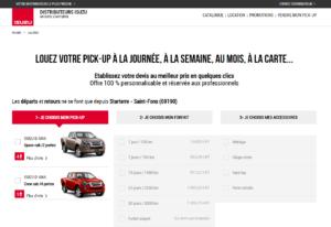 Nouveau Site lepickup-fr location pickup