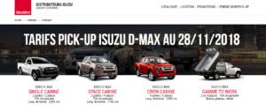 Nouveau Site lepickup-fr tarif