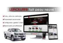 nouveau site lepickup -lancement