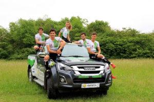 TeamTVert Saison 2018 ISUZU