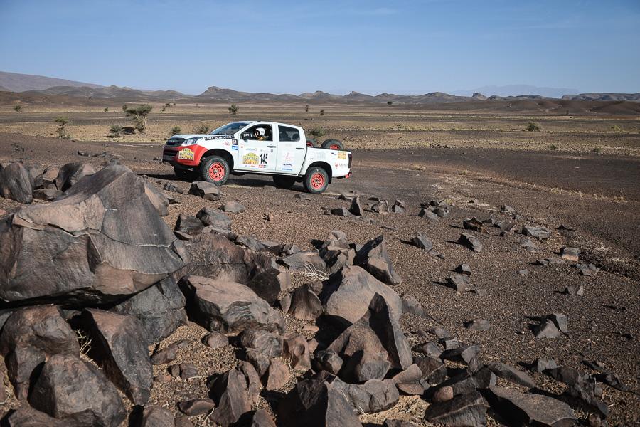 Rallye Aicha des Gazelles isuzu 3